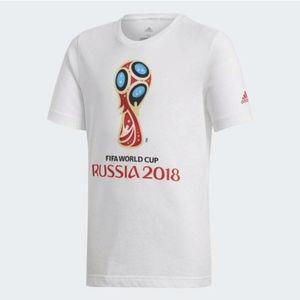 2 left!!!!! 2/$30 BOYS FIFA WORLD CUP  TEE CW2106